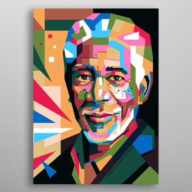 Art illustrations with amazing artists in modern pop art styles. metal poster