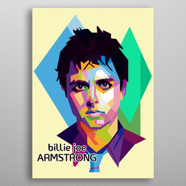 Billie Joe ( Greenday ) metal poster