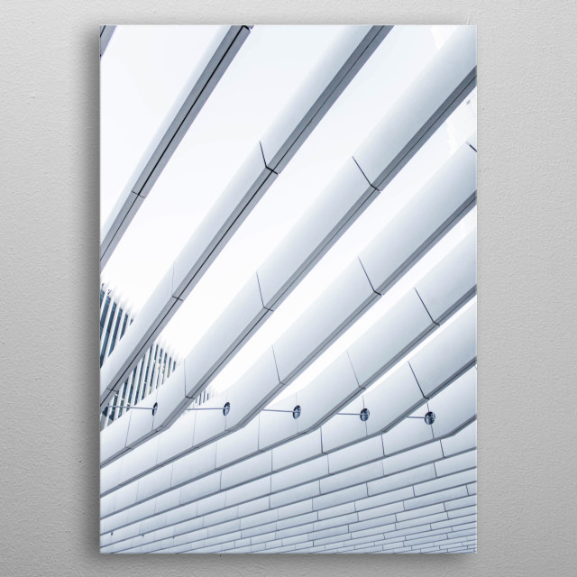 High-quality metal print from amazing Minimal collection will bring unique style to your space and will show off your personality. metal poster