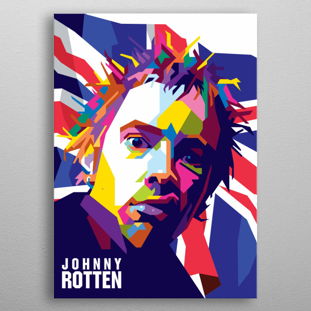 John Joseph Lydon (born 31 January 1956), also known by his stage name Johnny Rotten, is an English singer, songwriter and musician. metal poster