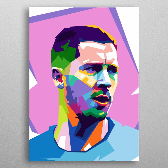 . He primarily plays as an ... ‎Early life · ‎Club career · ‎International career · ‎Style of play Eden Hazard - Player Profile 18... metal poster