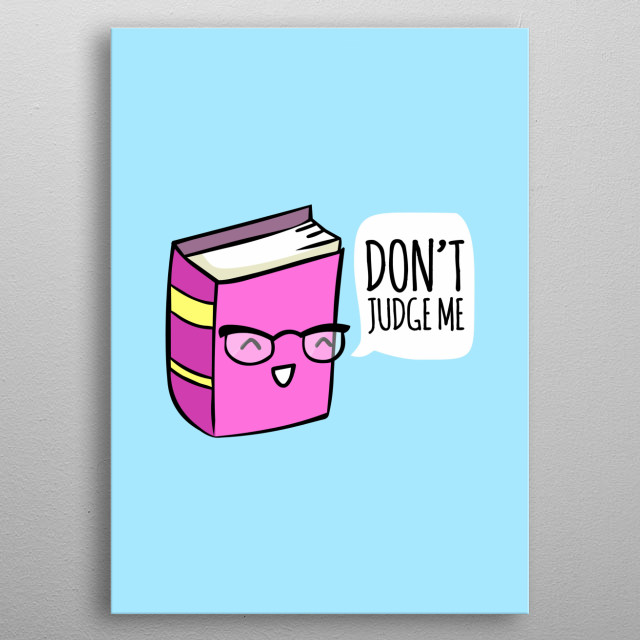 Don't judge a book ... by it's movie! :P metal poster