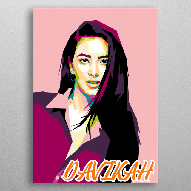 Davika Hoorne is a Thai actress and model of Thai and Belgian descent. metal poster