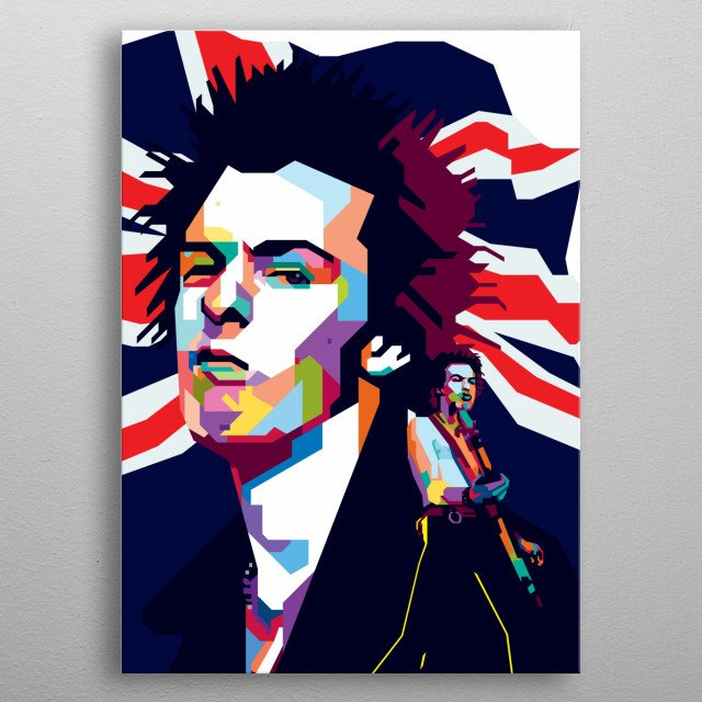 Sid Vicious (born Simon John Ritchie,[2][1] 10 May 1957 – 2 February 1979) was an English bassist and vocalist                               metal poster