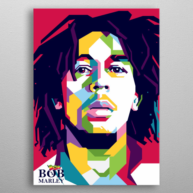 Robert Nesta Marley, OM (6 February 1945 – 11 May 1981) was a Jamaican singer-songwriter                                                   ... metal poster