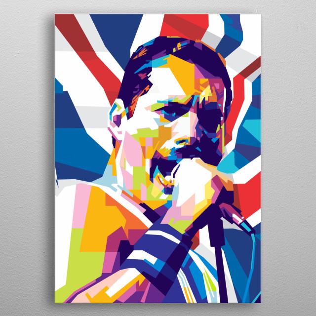 Freddie Mercury by Gumilar Pratama Adiatna | metal posters