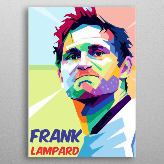 Frank James Lampard, OBE (born 20 June 1978) is an English football manager and former professional footballer metal poster