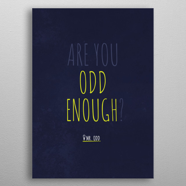 Well Are ya? metal poster