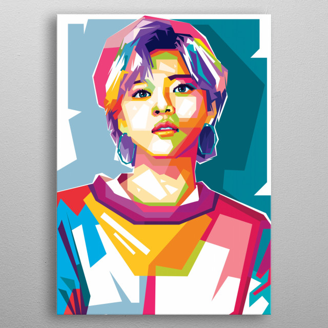 Yoo Jeong-yeon, also known as Jeongyeon, is a South Korean singer. He is a member of the international K-pop music group, TWICE, metal poster