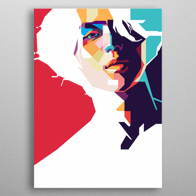 Inspired by Taemin mini album ACE metal poster