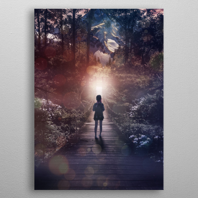 High-quality metal print from amazing My Collection collection will bring unique style to your space and will show off your personality. metal poster