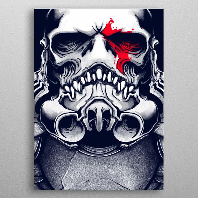 Stormbreaker Skull metal poster