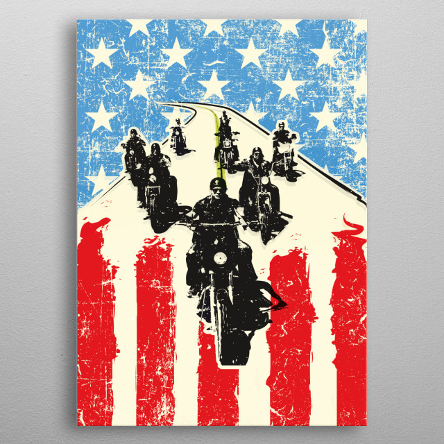 Sons of Anarchy art print tv serie inspired metal poster
