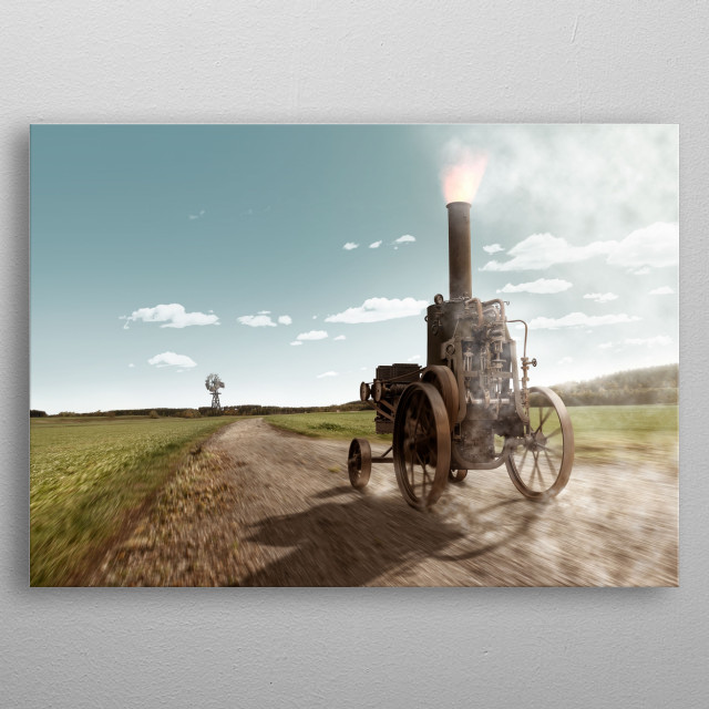 High-quality metal print from amazing Vehicles collection will bring unique style to your space and will show off your personality. metal poster