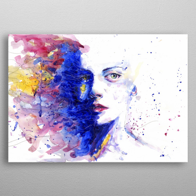 Perfect for painters and art enthusiastic.   metal poster