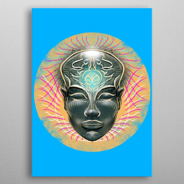 Fascinating  metal poster designed with love by KARMADESIGNER. Decorate your space with this design & find daily inspiration in it. metal poster