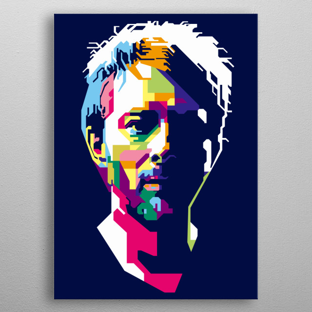 Thomas Edward Yorke is an English musician best known as the lead singer and main songwriter of the alternative rock band Radiohead. metal poster