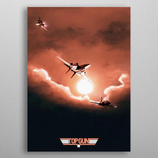 Watch the birdie  metal poster