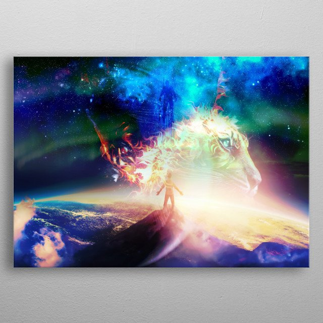 Dream within a lost heart, Found within a dream. metal poster