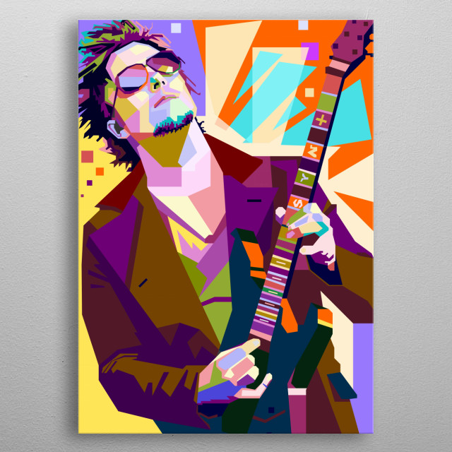 a tribute to Avenged Sevenfold's guitarist, Synyster Gates who has beautiful talent and give the soul in every song he plays. metal poster