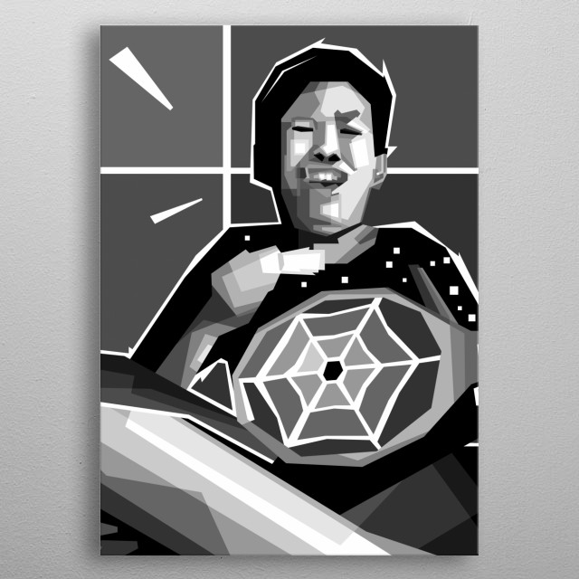 Fascinating metal poster designed by Rizky Dwi. Displate has a unique signature and hologram on the back to add authenticity to each design. metal poster