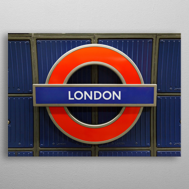 Represent your favorite city of London, England with this unique metal plate. Ideal for home decor, dorm, bar, restaurant or cafe display metal poster
