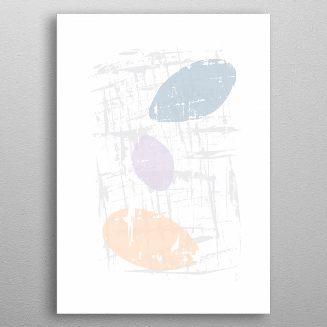 Minimalistic Scandinavian design with simple elegance and natural charm. metal poster