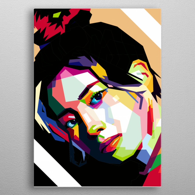you like twice?like dahyun? you must have this artwork  metal poster