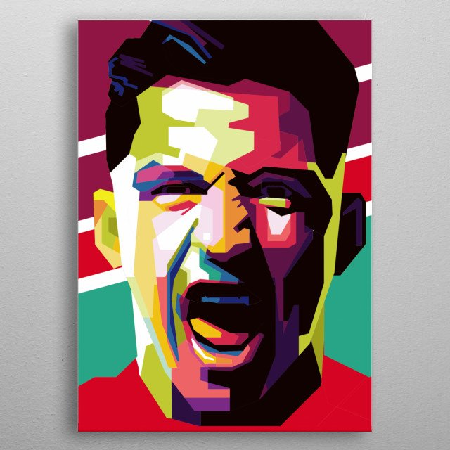 This picture is perfect for you MANCHESTER UNITED fans and Alexis Sanchez fans. immediately have this picture metal poster