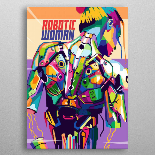 This marvelous metal poster designed by erikhermawann22 to add authenticity to your place. Display your passion to the whole world. metal poster
