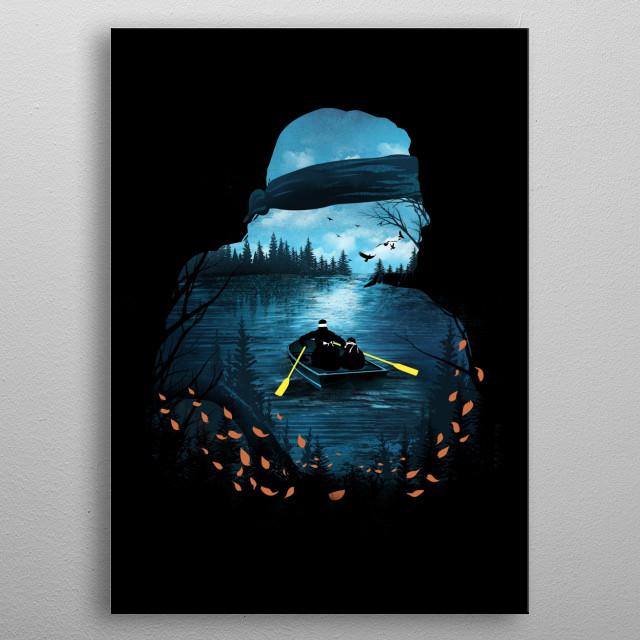 Dangerous Journey metal poster