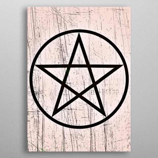 Inspired by Supernatural series  metal poster