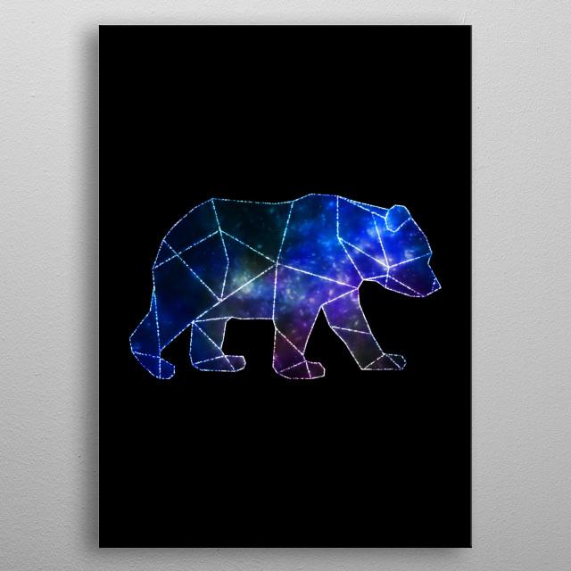 Bear dream metal poster