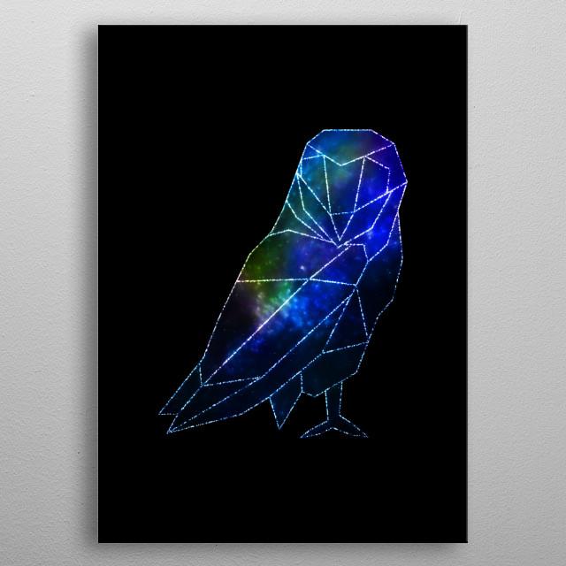 Owl dream metal poster