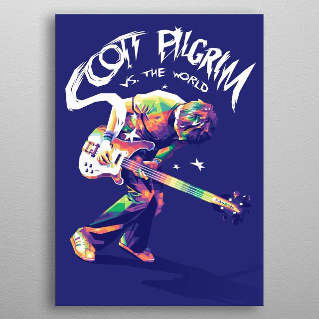 As bass guitarist for a garage-rock band, Scott Pilgrim (Michael Cera) has never had trouble getting a girlfriend; metal poster