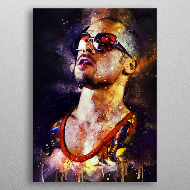 Tyler Durden - Brad Pitt - Fight Club metal poster