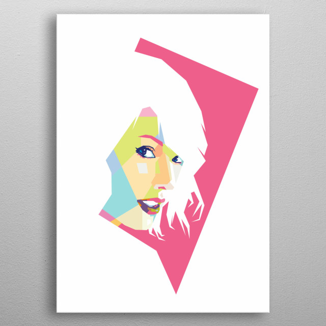 Taylor Swift is an American singer-songwriter. One of the world's leading contemporary recording artists. metal poster