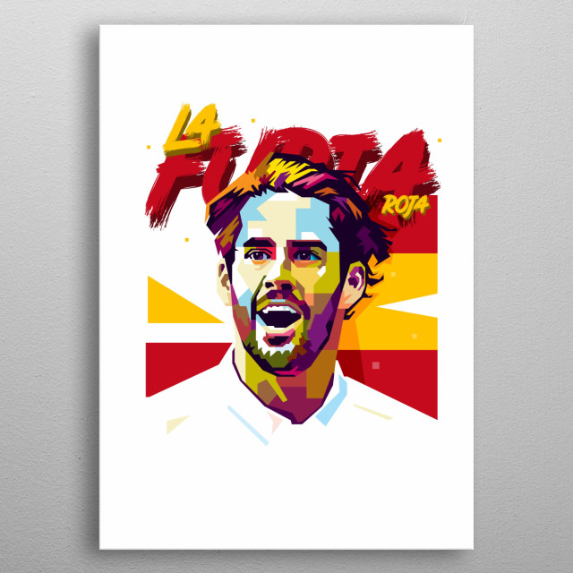 Isco is a Spanish professional footballer who plays as an attacking midfielder for Real Madrid and Spanish National Team. metal poster