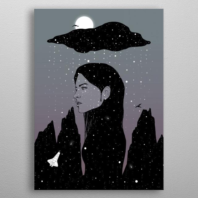 dream in darkness metal poster