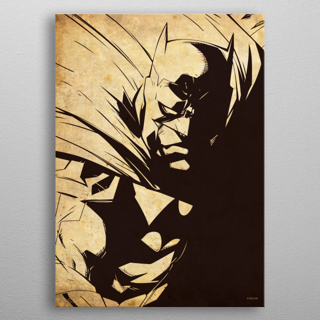 High-quality metal print from amazing Sepia Heroes collection will bring unique style to your space and will show off your personality. metal poster