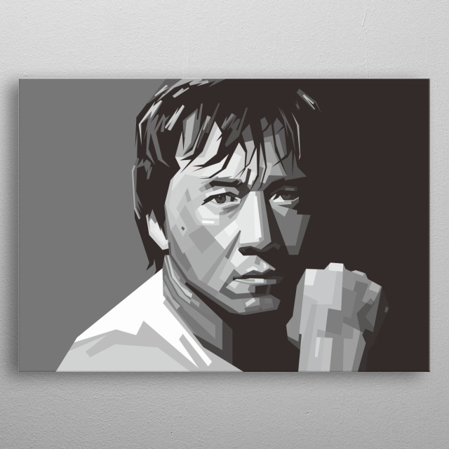 Jackie Chan is a Hong Kong martial artist, actor, film director, producer, stuntman, and singer. Jackie chan in wpap illustration metal poster