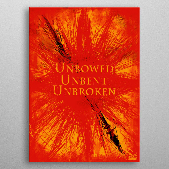 House Martell inspired design. metal poster