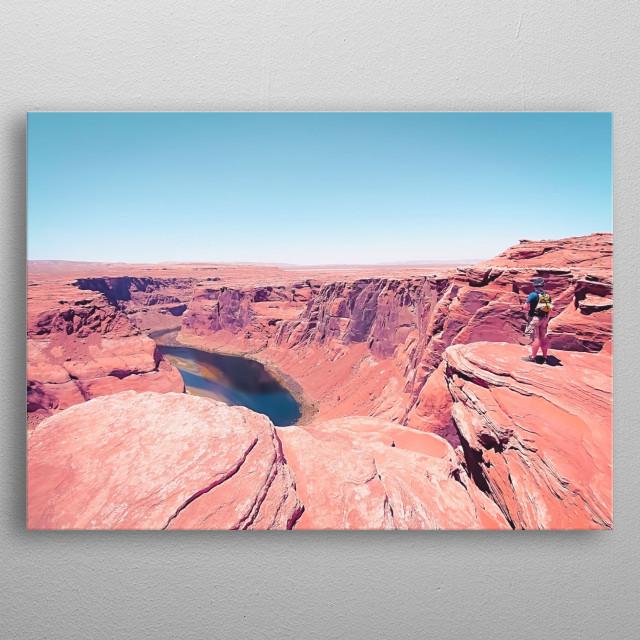 Horseshoe Bend, Arizona, USA metal poster