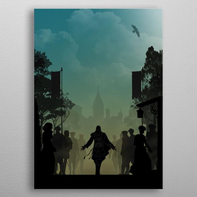 The Eagle - Warriors Landscapes metal poster