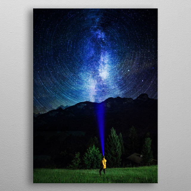 Fascinating  metal poster designed with love by fanfreak. Decorate your space with this design & find daily inspiration in it. metal poster