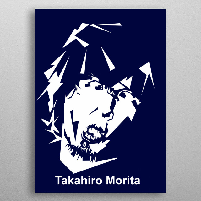 Takahiro Moriuchi known professionally as Taka, is the lead vocalist of the Japanese rock band One Ok Rock metal poster