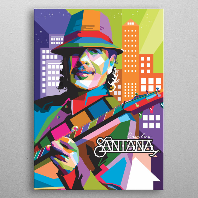 Carlos snatana is a Mexican and American musician and guitar player who first became famous in the late 1960s & early 1970s with  his band,  metal poster