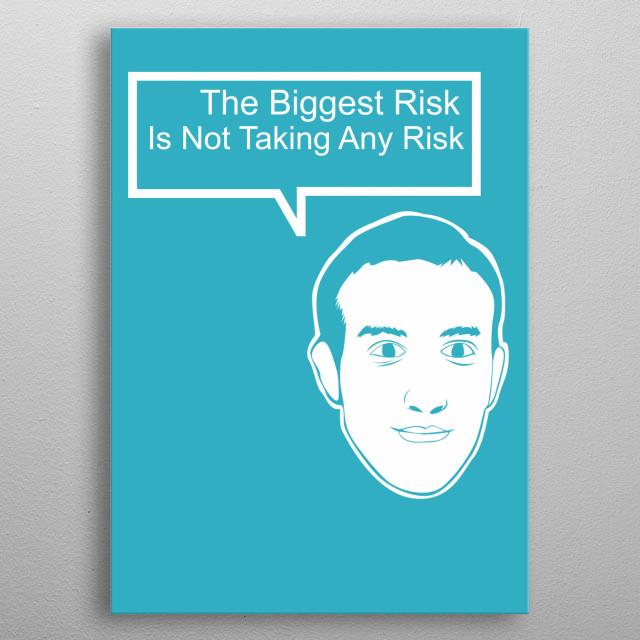 The Biggest Risk metal poster