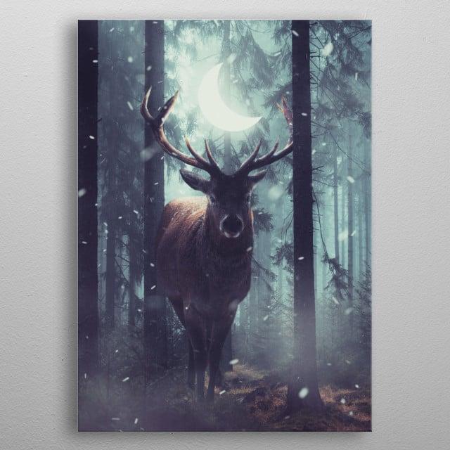 Forest Dweller metal poster