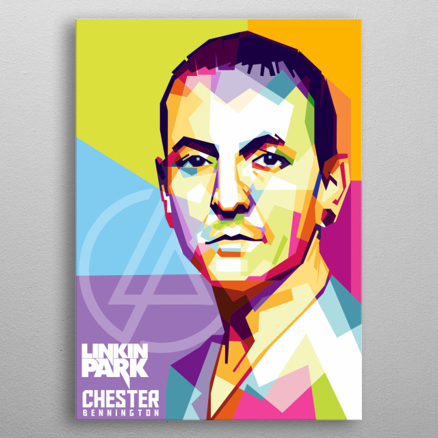 was an American singer, songwriter, musician, and actor. He was best known as the lead vocalist Linkin Park metal poster